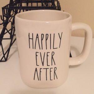 Rae Dunn Happily Ever After mug